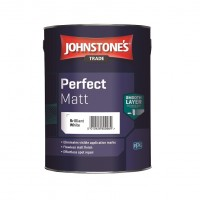 Johnstone's Trade Perfect Matt Emulsion - Brilliant White