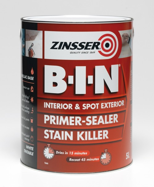 Zinsser BIN Primer-Sealer Stain Killer