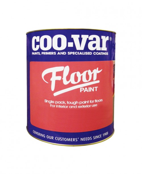 Coo-Var Floor Paint