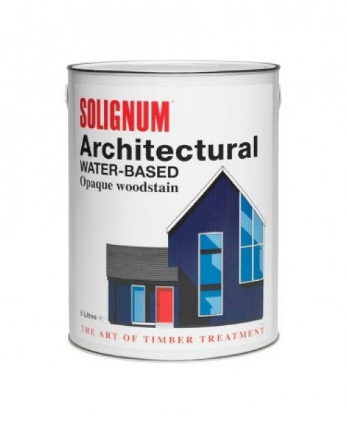 Solignum Architectural Water-Based Opaque Woodstain