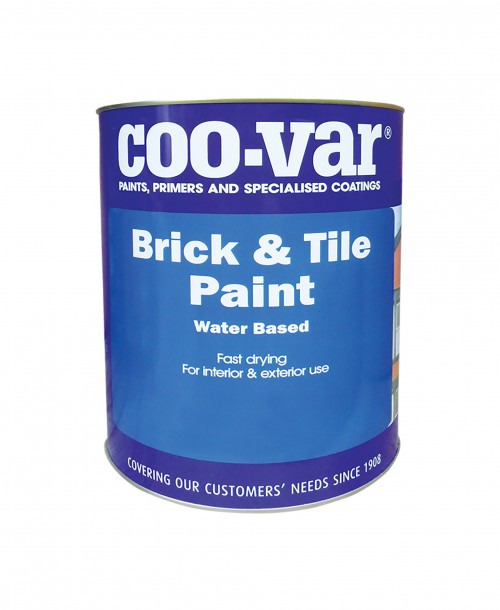 Coo-Var Brick and Tile Paint Water Based Matt Red