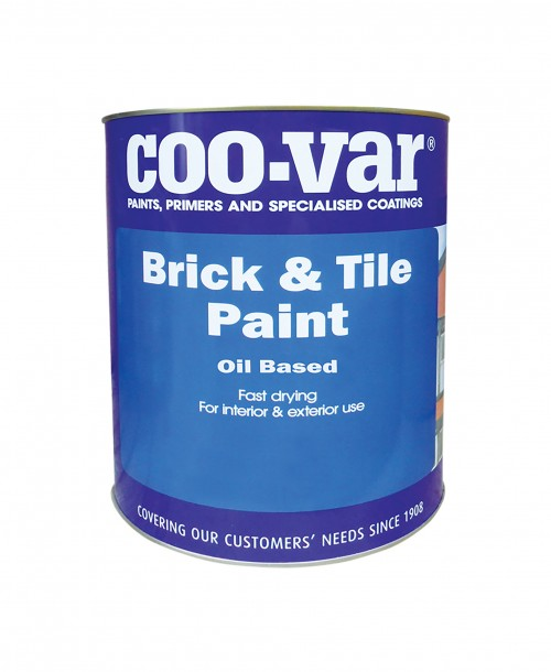 Coo-Var Brick and Tile Paint Gloss Red