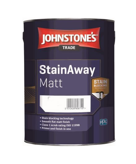 Johnstone's Trade StainAway Matt Emulsion - Mixed Colour