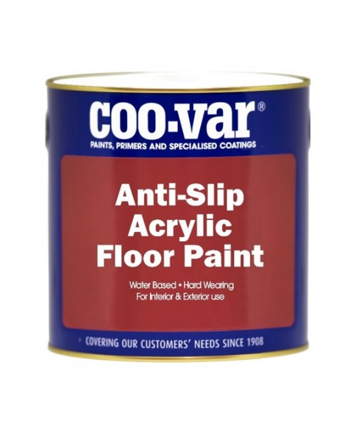 Coo-Var Anti-Slip Acrylic Floor Paint