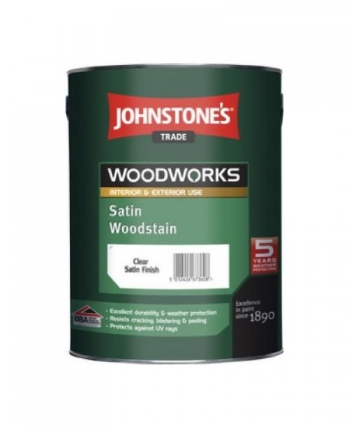 Johnstone's Trade Satin Woodstain