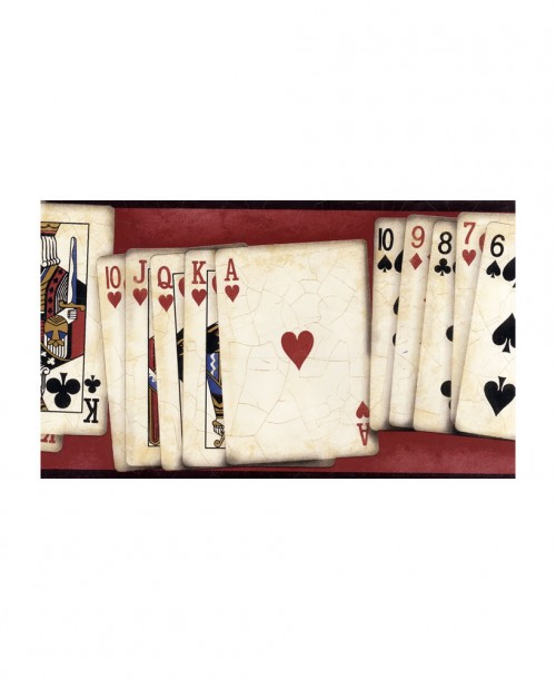 Playing Card Border GL61651B