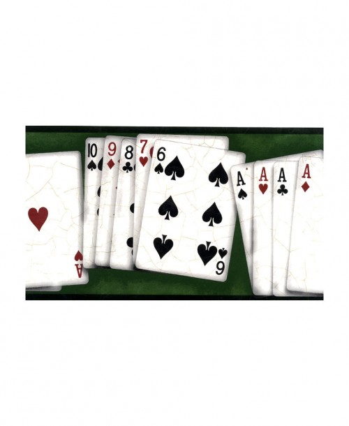 Playing Card Border GL61654B