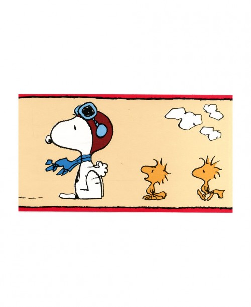 Snoopy Wallpaper Border 39-132