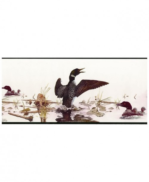 Wallpaper Border Ducks GL76345