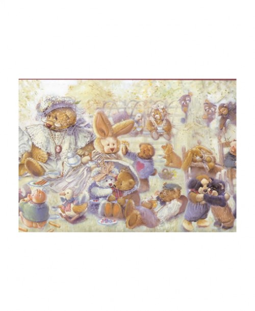 Teddy Bears and Friends Border JJ2901