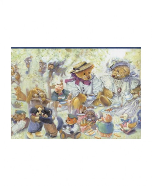 Teddy Bears and Friends Border JJ2900