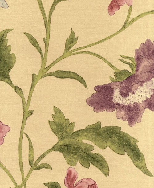 Archive Trails by Little Greene 0247CHSAGEZ China Rose