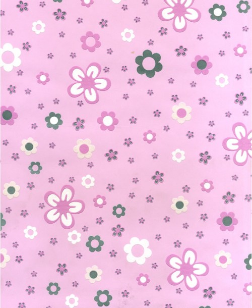 S & A SUPPLIES Stocked Wallpaper Pink Flowers