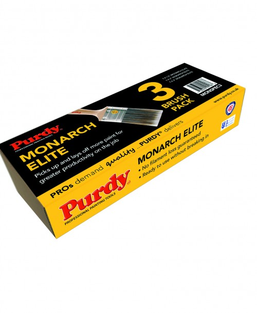 Purdy Monarch Elite Brush Set - 1.5 inch, 2 inch, 3 inch