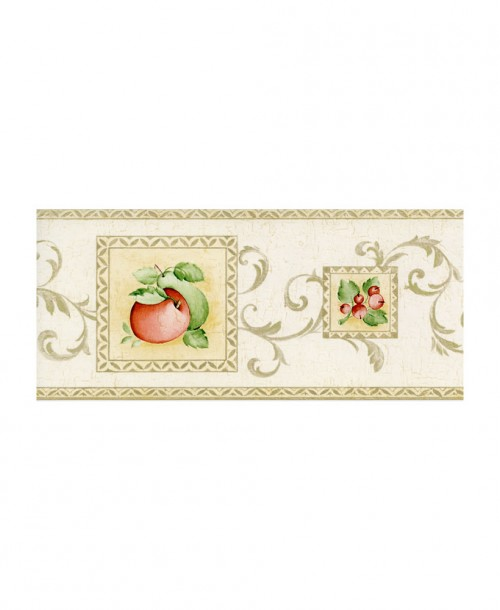 Apples & Pears Border 1922B
