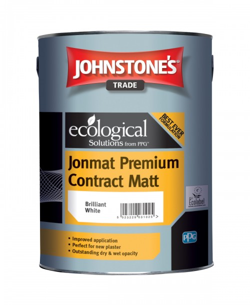 Johnstone's Trade Jonmat Premium Contract Matt Emulsion - Mixed Colour 5 Litre