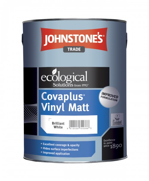 Johnstone's Trade Covaplus Vinyl Matt Emulsion - Brilliant White