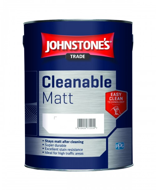 Johnstone's Trade Cleanable Matt Emulsion - Mixed Colour