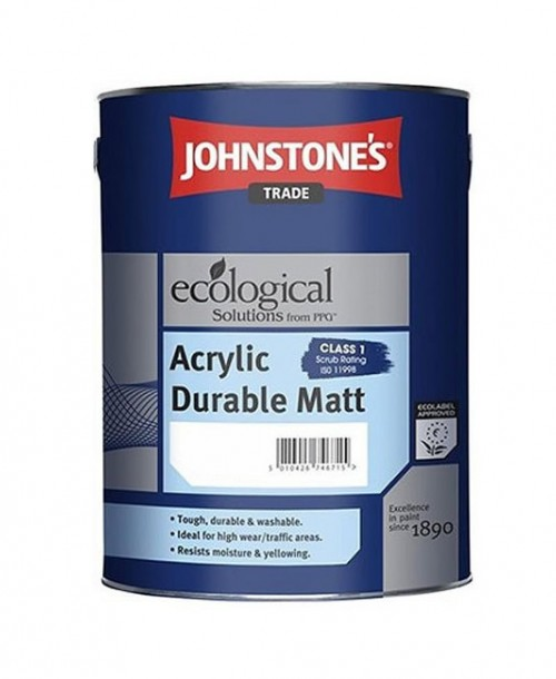 Johnstone's Trade Acrylic Durable Matt Emulsion - Mixed Colour