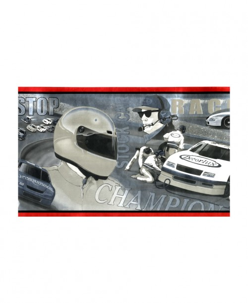 Cars and Motorbikes Border JJ2939