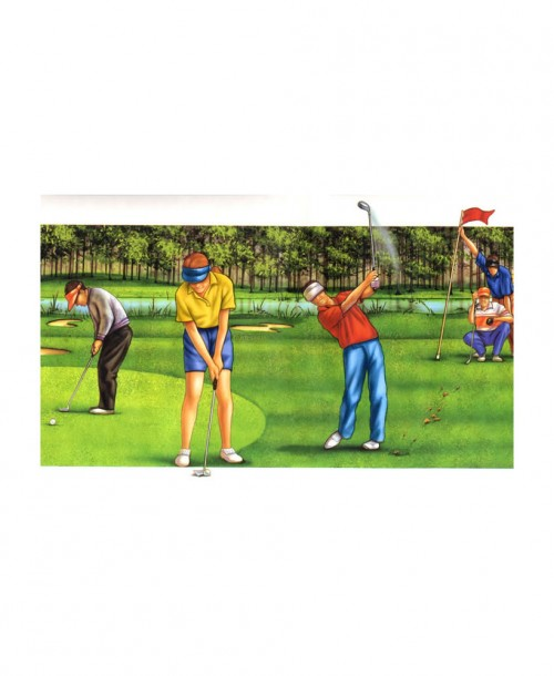 Golf Border JJ2947