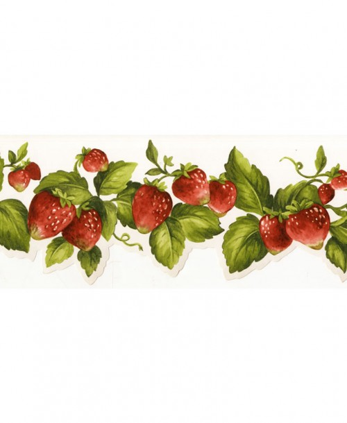 Cut Out Strawberries Border FK72635DC