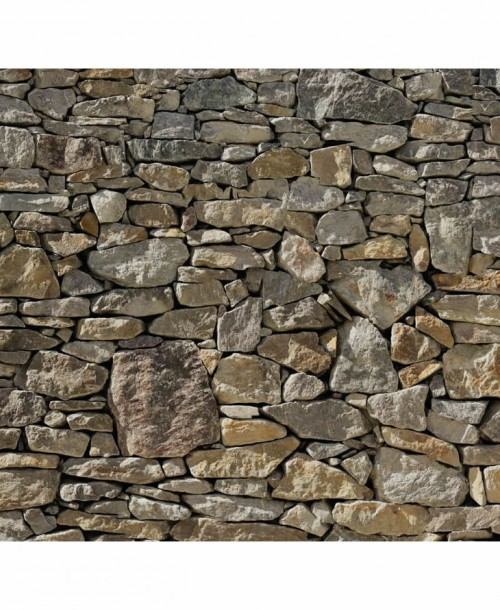 Stone Wall by Komar 8-727 Wall Mural