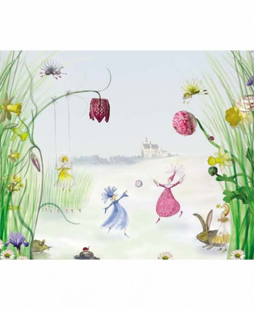 Fairy Princess by Komar 4-260 Wall Panel
