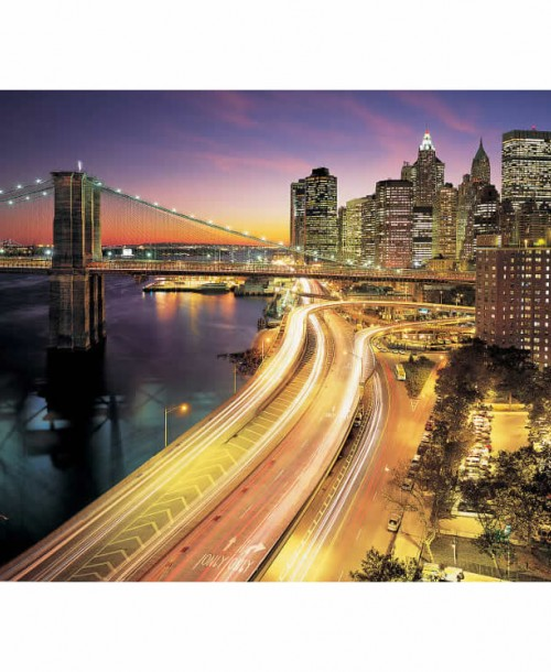 NYC Lights by Komar 8-516 Wall Mural