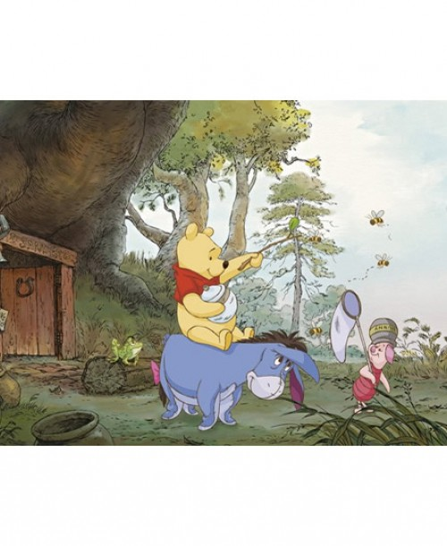 Winnie the Pooh (Pooh's House) by Komar 4-413 Wall Panel