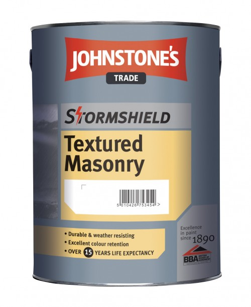 Johnstone's Trade Stormshield Textured Masonry - Mixed Colour 5 Litre