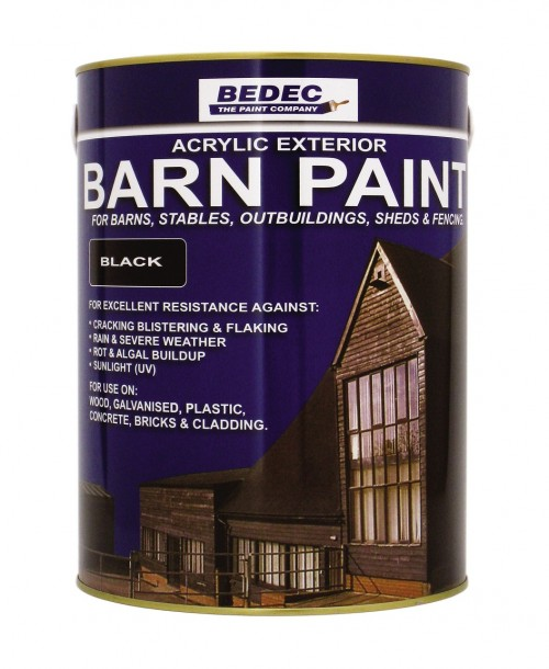 Bedec Barn Paint - Special Offer 5L Black