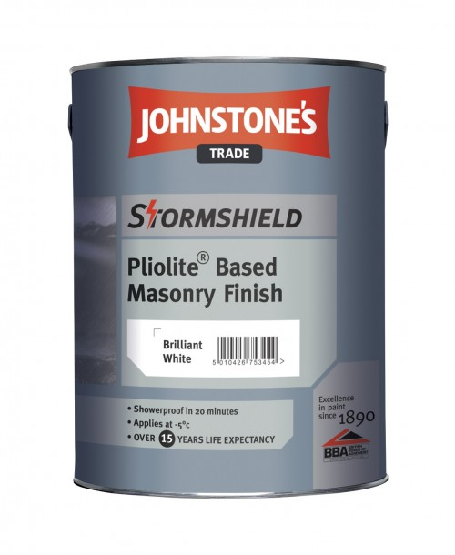 Johnstone's Trade Stormshield Pliolite Based Masonry Finish