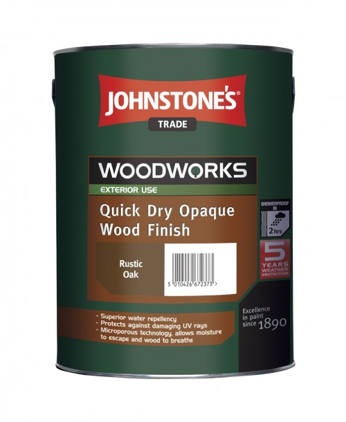 Johnstone's Trade Quick Dry Opaque Wood Finish