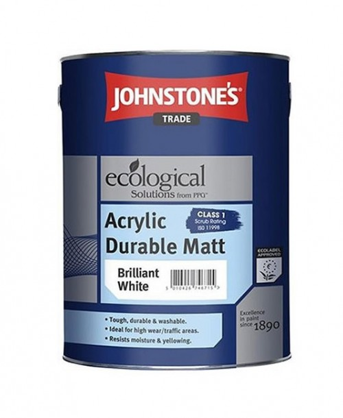 Johnstone's Trade Acrylic Durable Matt Emulsion