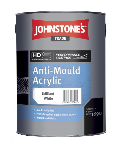 Johnstone's Trade Anti-Mould Acrylic